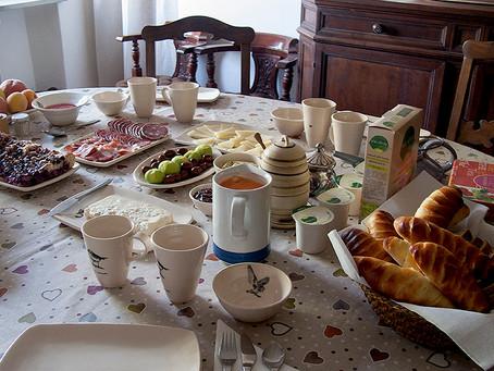 Desayuno en Selvabella in Chianti
