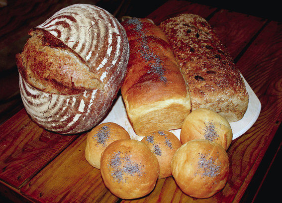 Varied bread