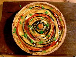 La cucina di Selvabella: Torta spirale di verdure