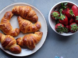 Oggi per colazione Croissant fatti in casa!