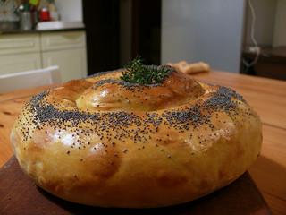 La cucina di Selvabella: Strudel di zucca e ricotta di pecora aromatizzato al timo e scorza di limon
