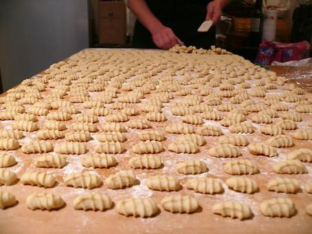 La cocina de Selvabella. Pasta fresca: cavatelli rigati