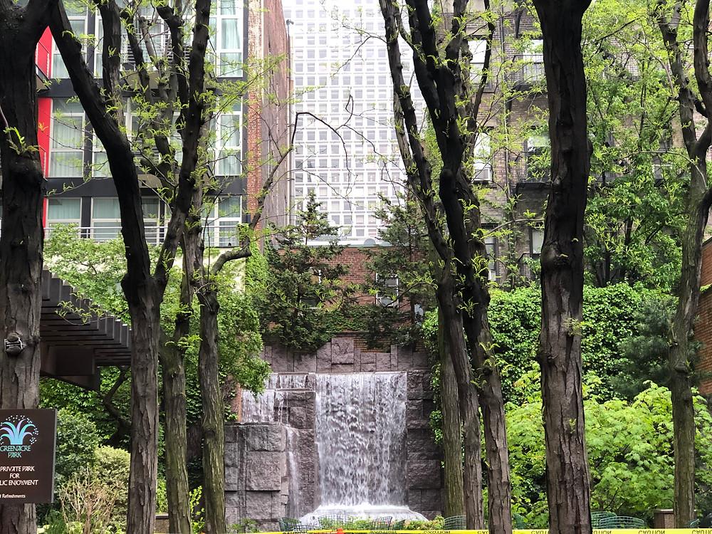Greenacre Park, Turtle Bay, Manhattan, New York City