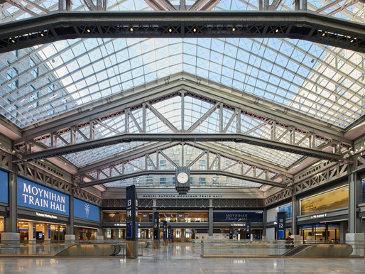 The New Moynihan Train Hall by Skidmore, Owings & Merrill
