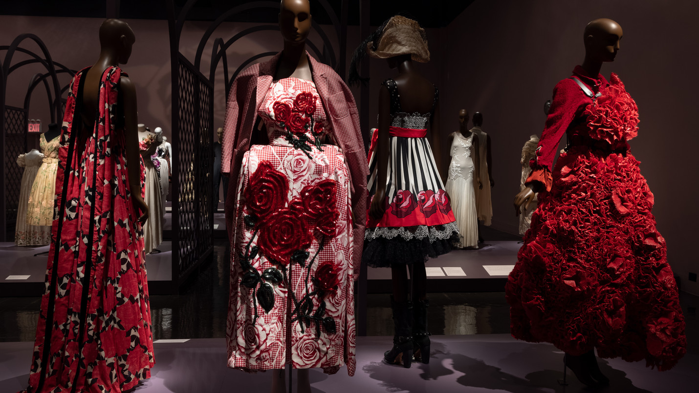 FIT Celebrates the Rose in Fashion