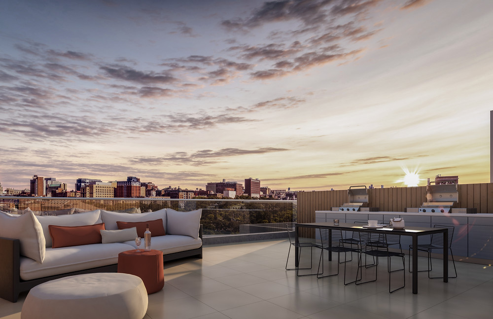 Eleven Hancock - Rooftop views in Harlem by Isaac & Stern Architects