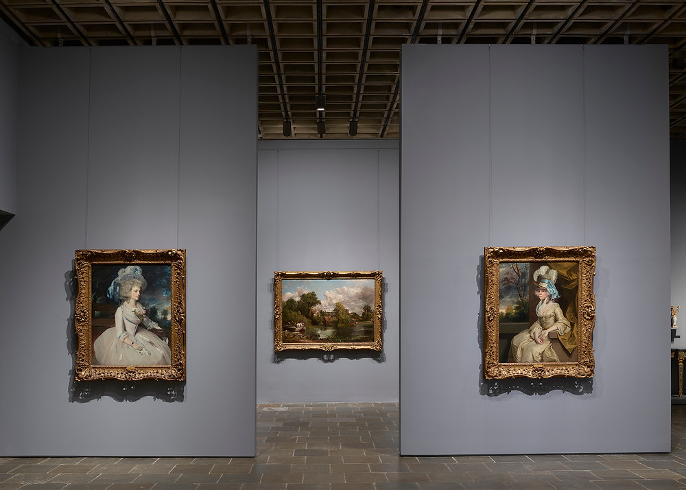 Paintings by Reynolds and Constable