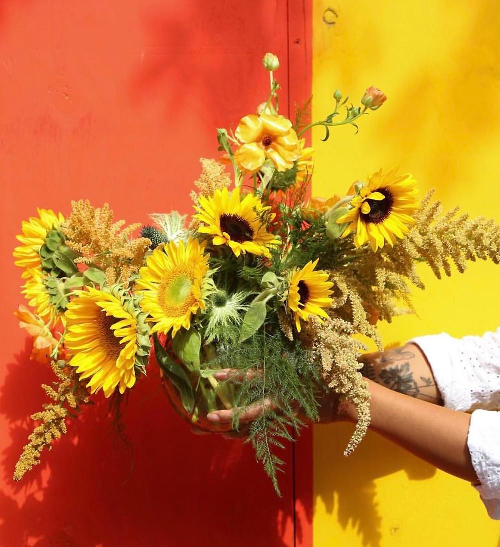 Sunflowers, Florist Bella Meyer