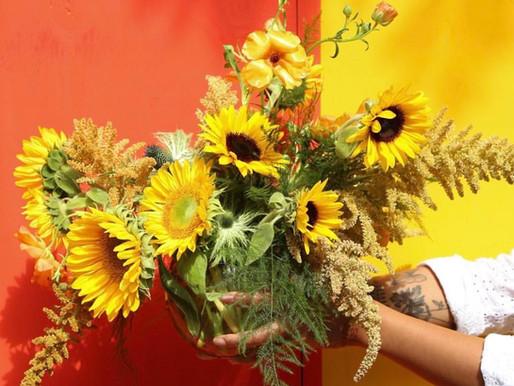 Learn How to Arrange Summer Flowers Like Master Florist Bella Meyer, Marc Chagall's Granddaughter