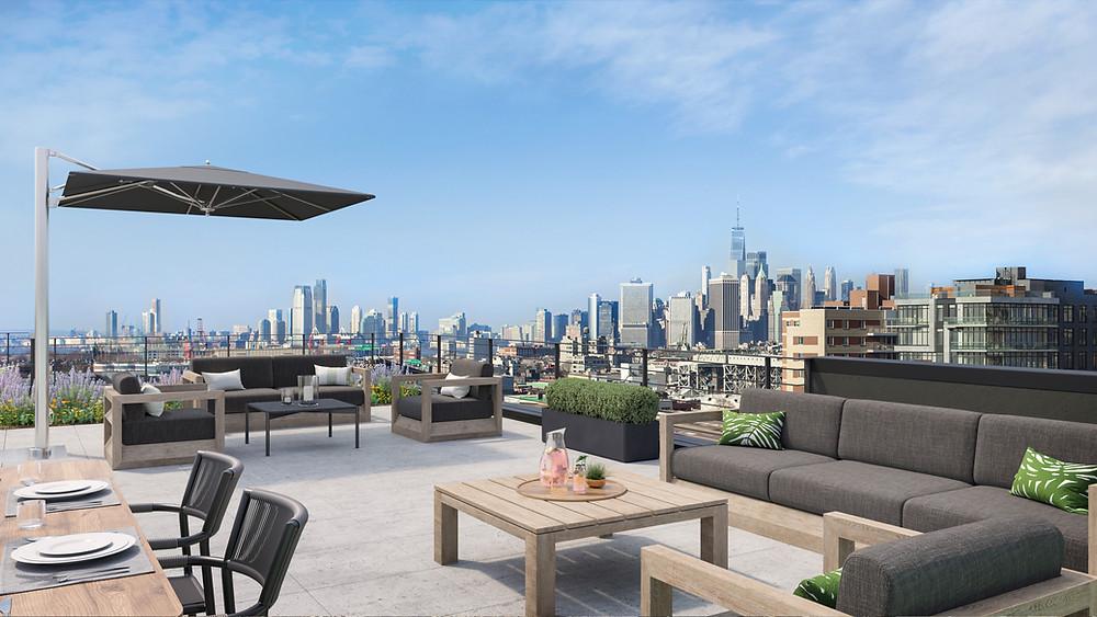 233 Eighteenth rooftop views - Prospect Park