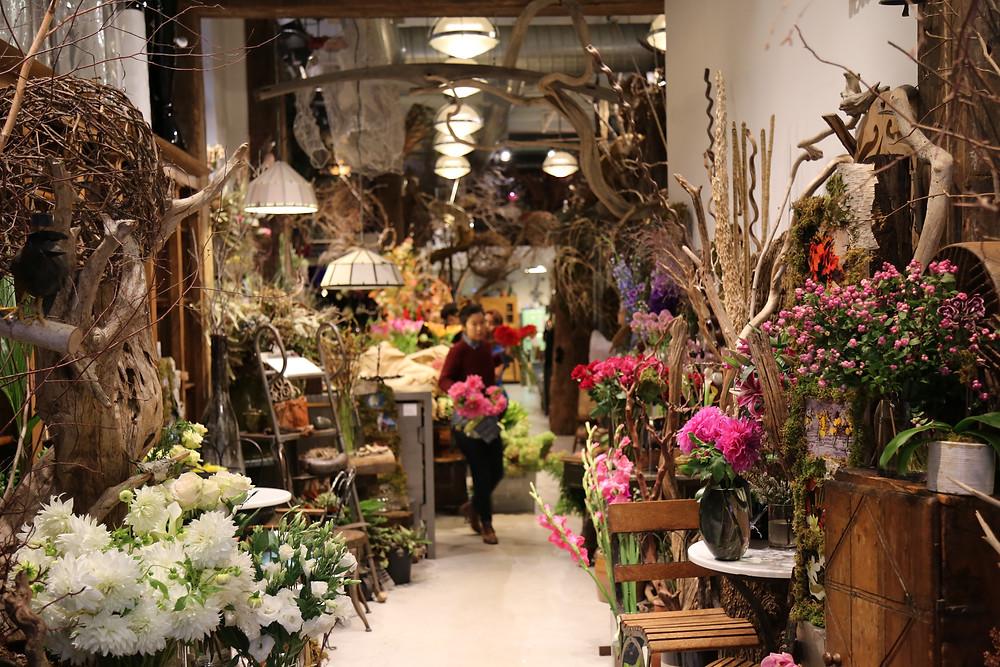 Fleurs Bella entrance - 55 East 11th St, New York, NY 10003