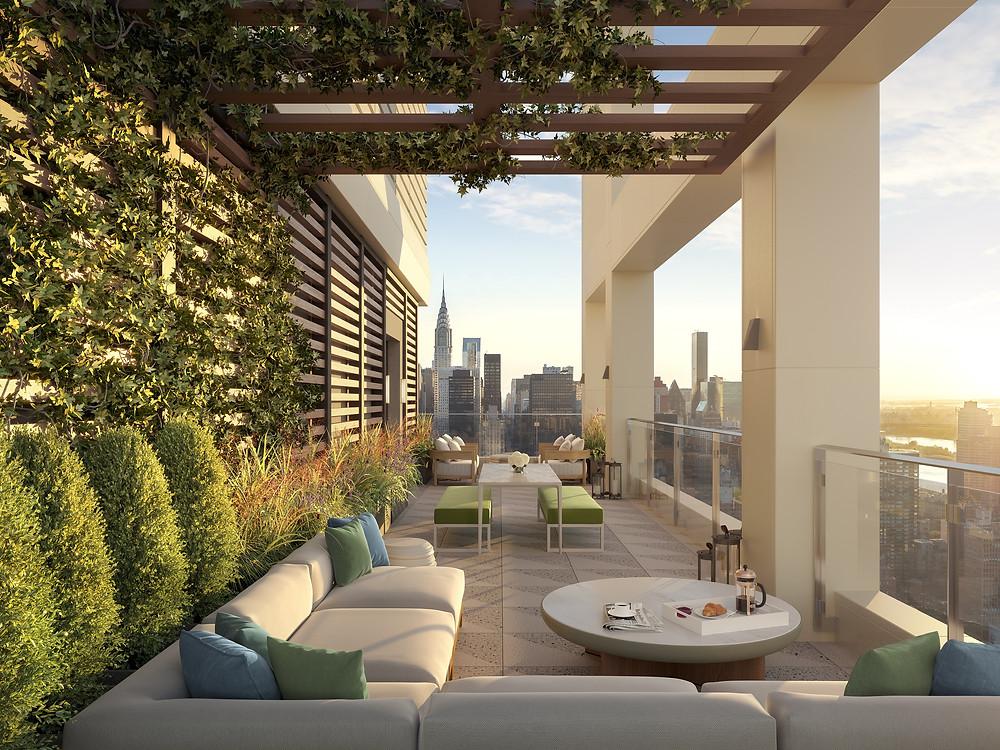VU rooftop New York City condos