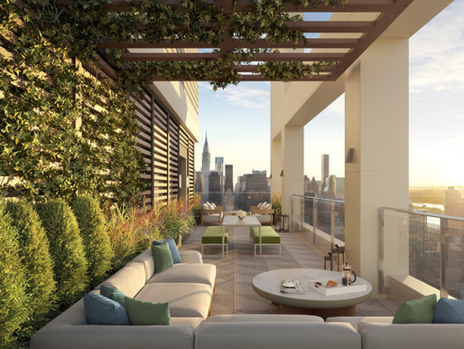 Discover Scenic Rooftop Views from New York City's Premier New Developments