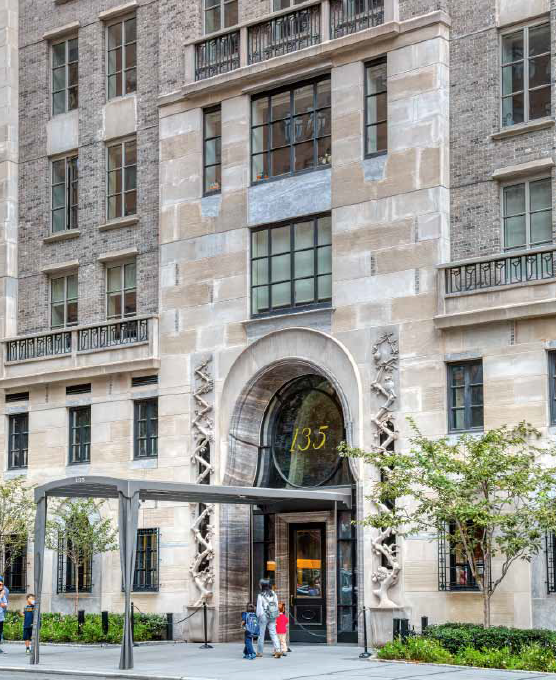 Exterior of 135 East 79th Street building in New York City by Kenneth G. Grant
