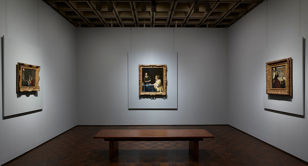The Vermeer Room at the Frick Madison