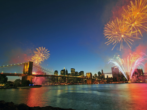 Experience NYC's Return With Fireworks Tonight!