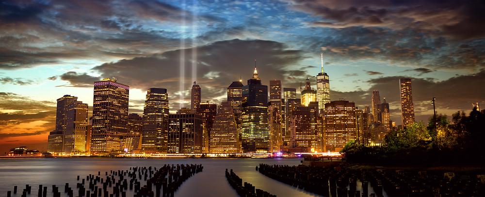 honor victims September 11 - Manhattan NYC