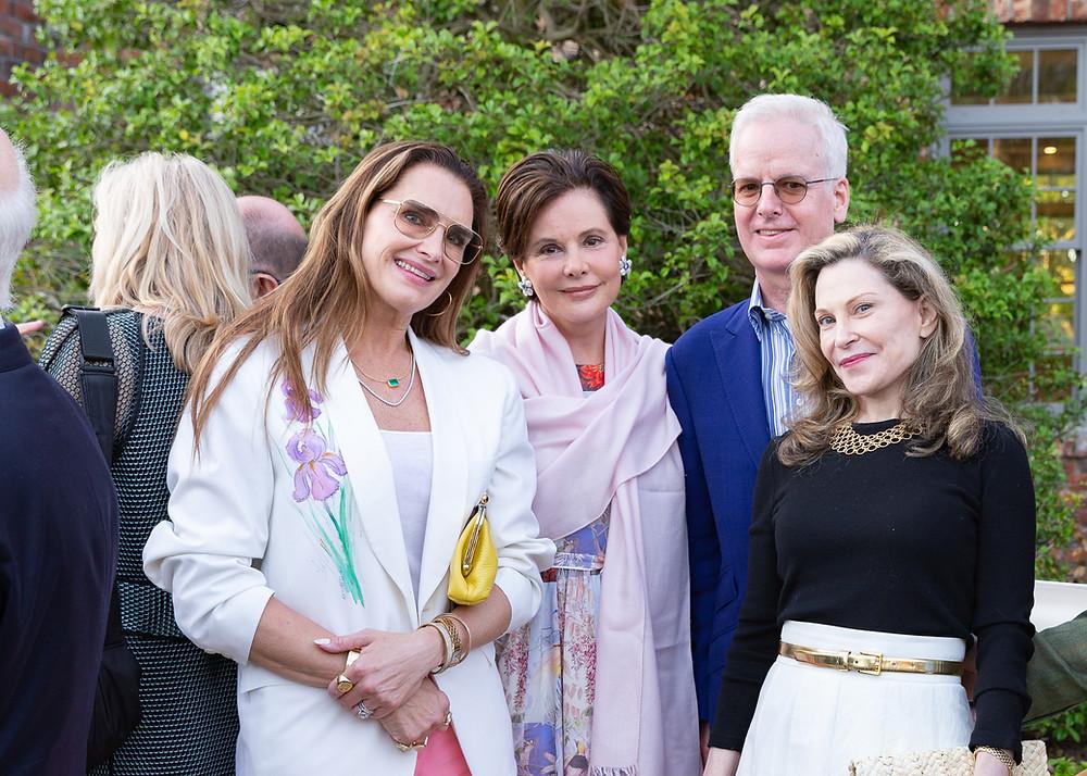 Brown Harris Stevens Golden Age event: Brooke Shields, Tory Burch, Martha Stewart, David Walentas