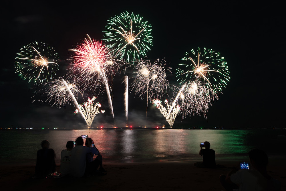 New Jersey - independence day fireworks
