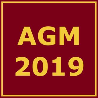 Club AGM 25th November