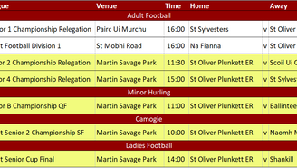 Club News & Fixtures 11th October