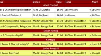 Club News & Fixtures 11th October