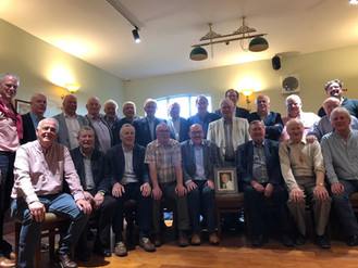 The 1975 Team regroup in Memory of Declan Caffrey