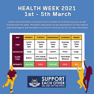 Dublin GAA Health Week