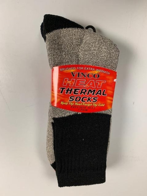 Thermal Sock (wool & Cotton blend)