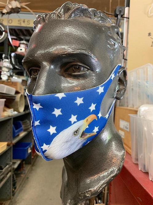 Bald Eagle Stars & Stripes Mask