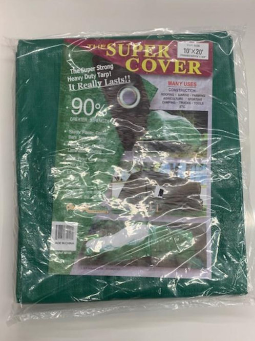 Heavy Duty Green/Black Tarp (larger sizes)