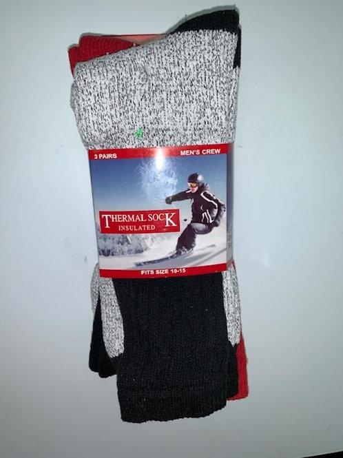 Mens' Thermal Socks (3-pack)