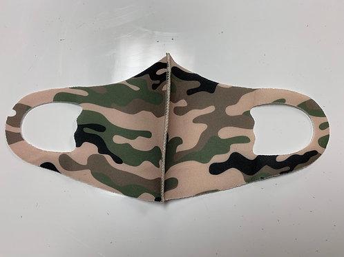 Brown Camo Mask