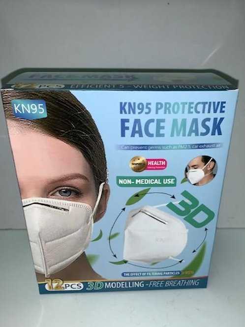 KN95 Mask (Box of 12)