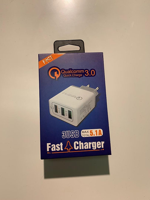 Qualcomm 3 USB Fast Charger