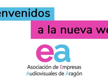 Empresas Audiovisuales de Aragón estrena nueva página Web