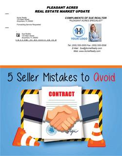 5 Seller Mistakes to Avoid