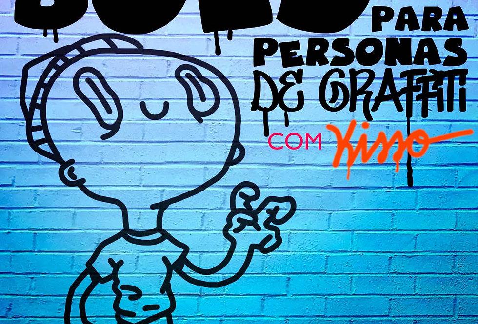 Ilustração Bold para Personas de Graffiti 06/07/2019