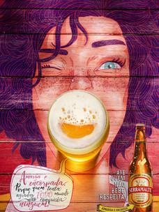 Cerveja Serramalte