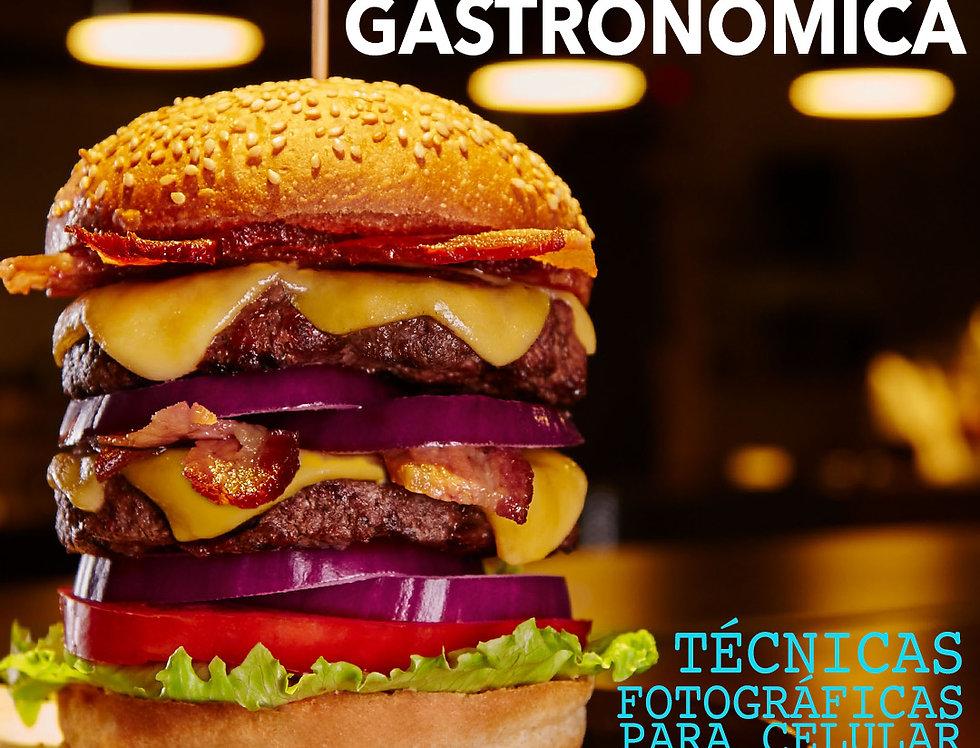 1 aula de Fotografia Gastronômica com celular