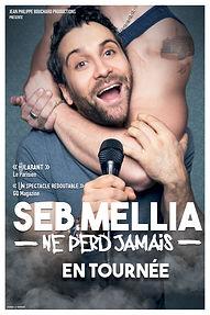 Affiche Seb Mellia date tournée 40x60.j