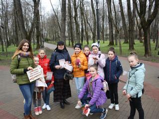 Жители Смоленска приняли участие в фотосъемке в рамках акции #ЭтоНашаПобеда