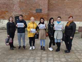 Студенты и преподаватели Колледжа СГУ поддержали акцию #ЭтоНашаПобеда