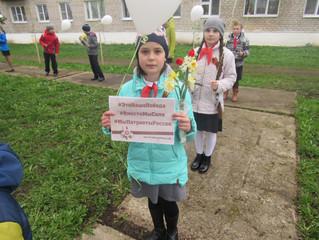 В Руднянском районе поддержали гражданско-патриотическую акцию #ЭтоНашаПобеда
