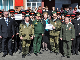 Эстафету акции «#ЭтоНашаПобеда» передали в другие регионы России
