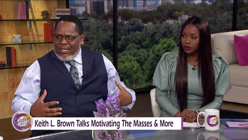 Keith L. Brown visits Sister Circle Live