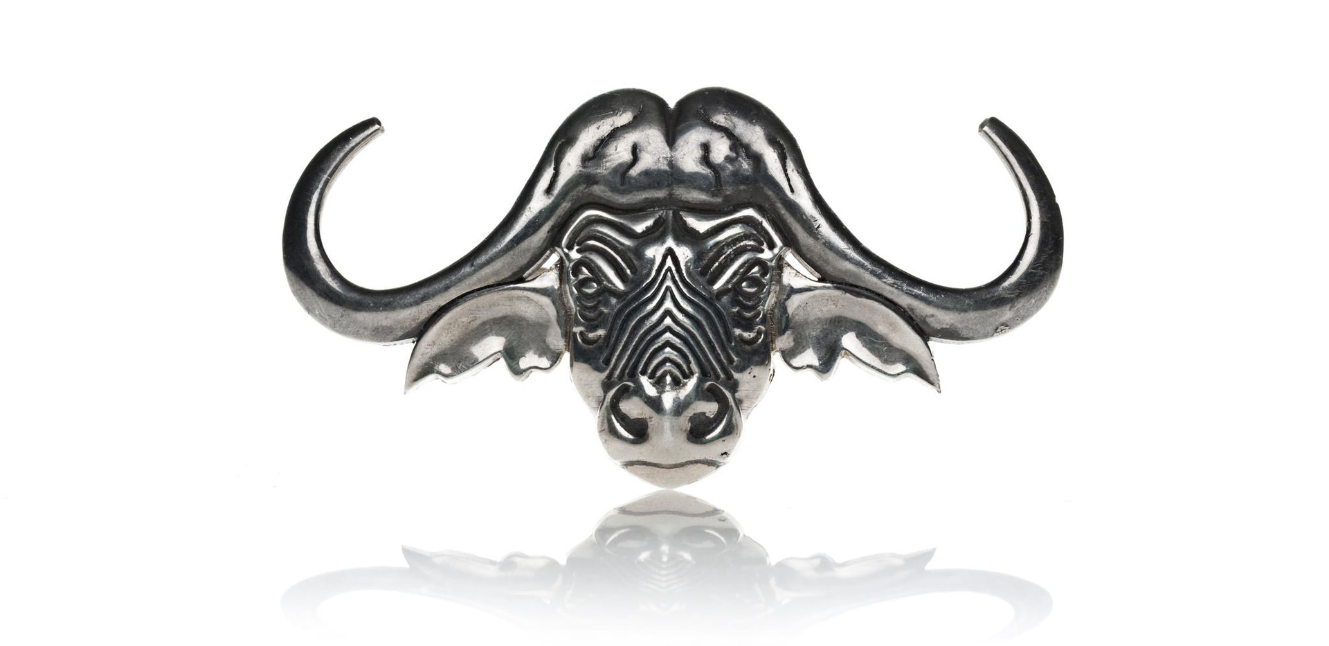 The Great Buffalo Hunt Buckle