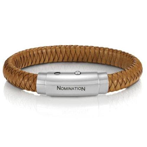 Nomination Leather Bracelet