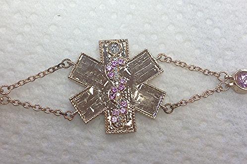 Beautiful Naomi Medical ID Bracelet