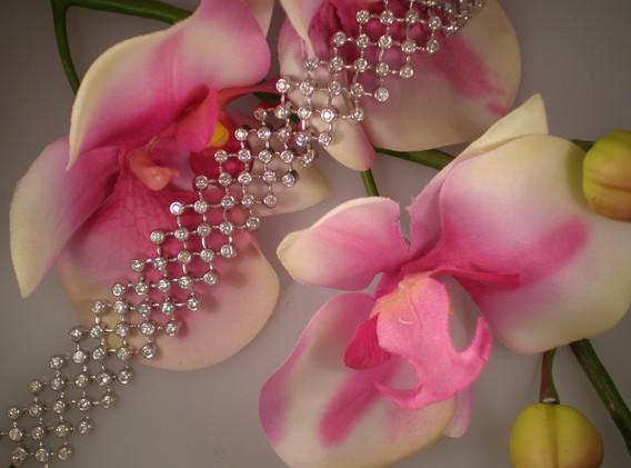 Moveable Diamond Bracelet